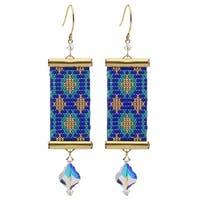 Loom Statement Earrings in Ibiza - Exclusive Beadaholique Jewelry Kit