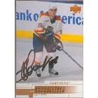 Ivan Novoseltsev Atlanta Thrashers 2000 Upper Deck Autographed Card This item comes with a certifi