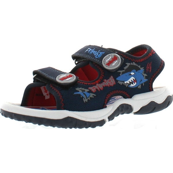 Primigi Boys Beach Sand 4 Shark Water Friendly Sport Sandals - Blue Shark