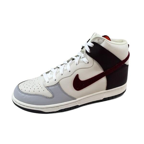 Nike Men's Dunk High Neutral Grey/Deep Garnet-Sail 309432-062