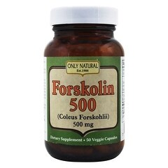 Only Natural Forskolin Extract 50 Vcap