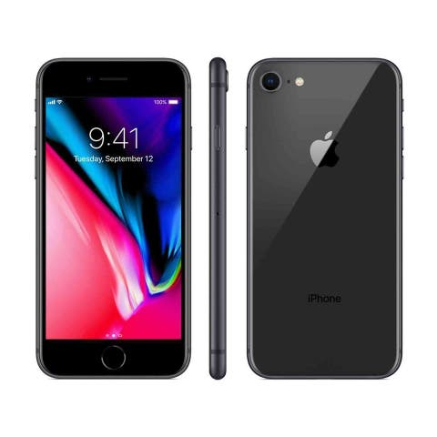 iPhone 8 Space Gray Verizon Locked Certified Refurbished Phone