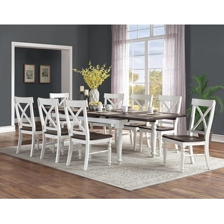 Link to The Gray Barn Crooked Cottage 9-piece Country Dining Room Set Similar Items in Dining Room & Bar Furniture