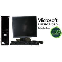 "Dell 740 DT, AMD 2.0GHz, 2GB, 160GB, W10 Home, 19"" LCD"