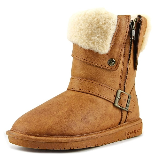 Bearpaw Madison Round Toe Suede Brown Winter Boot