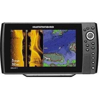 Humminbird HELIX 10 SI/GPS Combo - US and International (409990-1M) HELIX 10 SI/GPS Combo - US and International