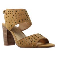 Very Volatile Womens Forward Tan Sandals Size 8