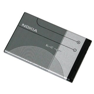 New Replacement Battery for Nokia BL-4C Phone Models 1 Pack