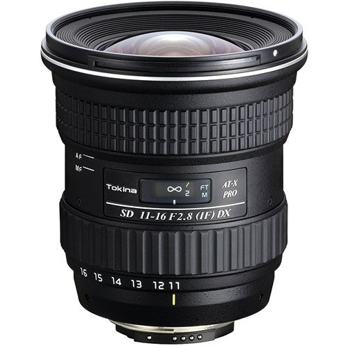 Tokina 11-16mm f/2.8 AT-X 116 PRO DX-II Lens for Canon EF - Black