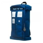 Dr. Who Tardis Zipper Backpack