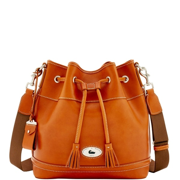 Dooney & Bourke Florentine Toscana Drawstring (Introduced by Dooney & Bourke at $498 in Sep 2016) - Natural