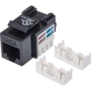 Intellinet - Intellinet Cat6 Keystone Jack Utp, Black, Punch-Down