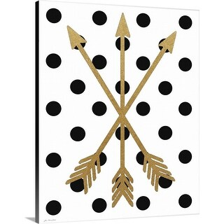 """Arrows"" Canvas Wall Art"