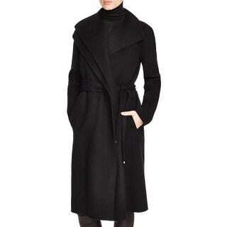 Vince Womens Coat Wool Long Sleeves