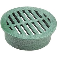 """National Diversified 3"""" Green Round Grate 16 Unit: EACH"""