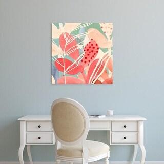 Easy Art Prints Victoria Borges's 'Tropical Assemblage III' Premium Canvas Art