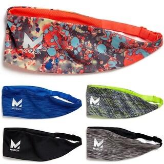 Mission Athletecare VaporActive Adjustable Lockdown Cooling Headband