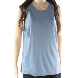 Lauren Ralph Lauren NEW Blue Women's Size Medium M Tank Knit Top