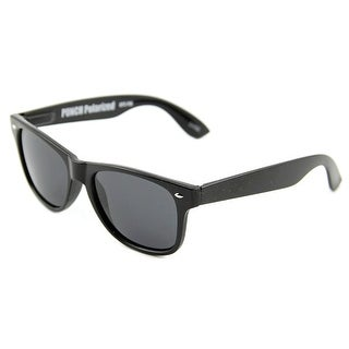 Grinder Punch GP3 Women Wayfarer Black Sunglasses