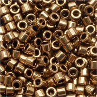 Miyuki Delica Seed Beads 10/0 Metallic Bronze DBM0022 8 GR