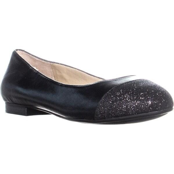 2fc95b22c1 Shop Easy Spirit Katmira Ballet Flats, Black/Black Leather - 7.5 us ...