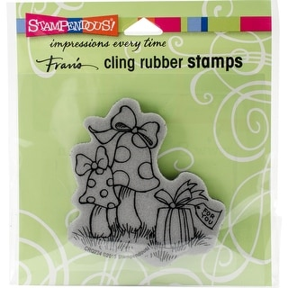 "Stampendous Cling Stamp 3.5""X4""-Garden Gift"
