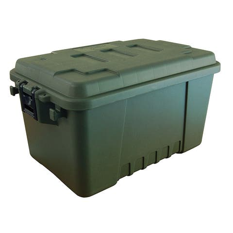 Plano 1619-01 plano small sportsman's trunk 56 quart. o.d. green