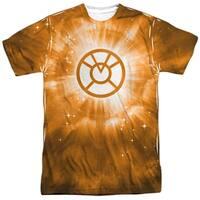 Green Lantern Orange Energy Mens Sublimation Shirt