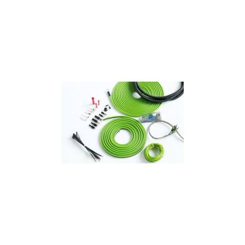 Surge F-0 Flo Series by 0 Gauge 5000W Awg Amplifier Installation Wiring Amp Install Kit Surge F-0 Flo Series by 0 Gauge 5000W