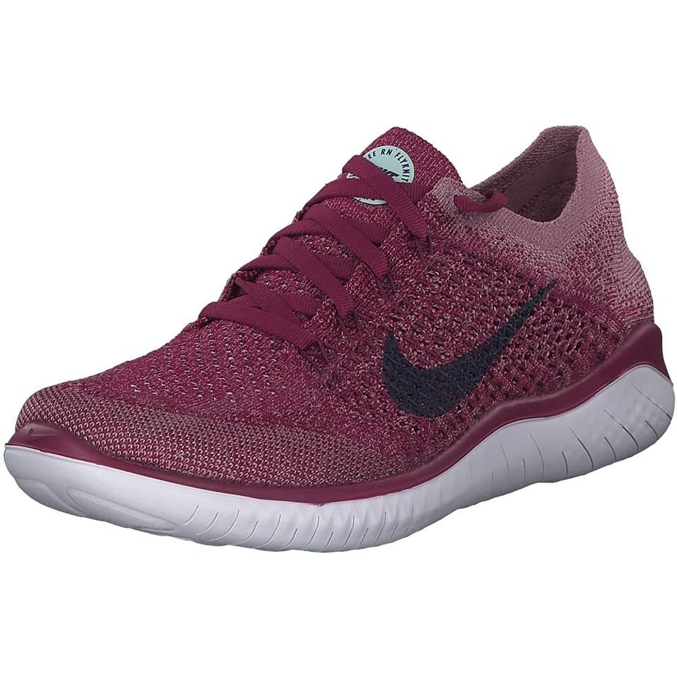 agitación reporte Composición  Nike Women's Free RN Flyknit 2018 Running Shoes - Overstock - 28913069