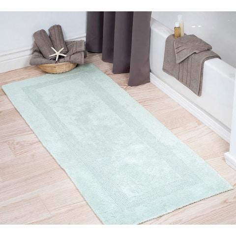 Windsor Home 100-percent Cotton Reversible Bath Mat Runner (24'' x 60'')