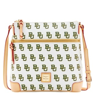 Dooney & Bourke NCAA Baylor Crossbody (Introduced by Dooney & Bourke at $188 in Mar 2016) - White