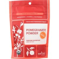 Navitas Naturals Pomegranate Powder - Organic - Freeze-Dried - 4 oz - case of 12