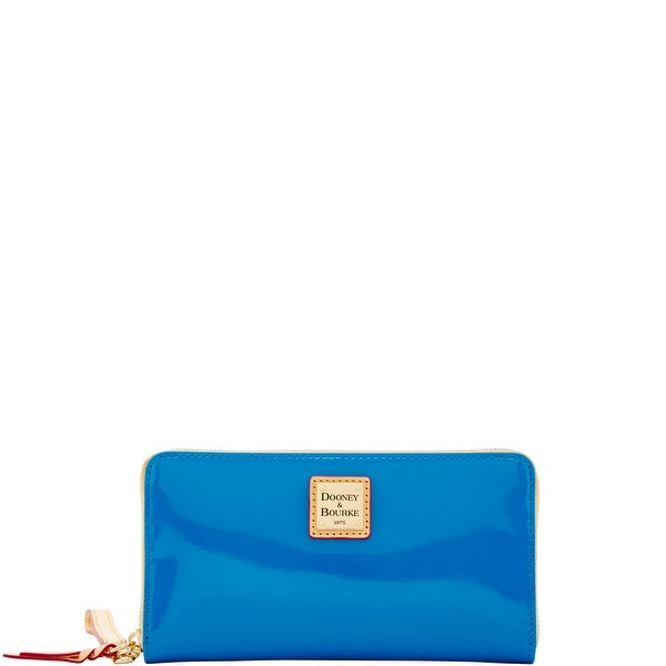Dooney & Bourke Patent Large Zip Around Wristlet (Introduced by Dooney & Bourke at $138 in Feb 2018)