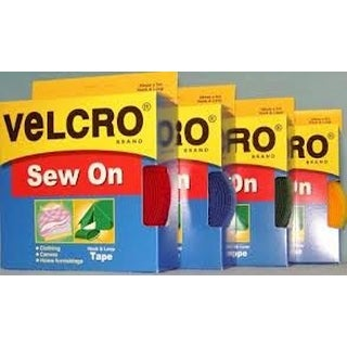 Velcro(R) Brand Fabric Fastener Sew-On Coins Tape Adhesive Sewing Stitch Colors