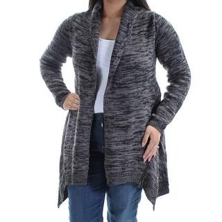 MATERIAL GIRL $59 Womens New 1433 Gray Trapeze Sweater L Juniors B+B