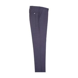 Charcoal Gray Slim Fit Dress Pants Pure Wool by Tiglio Luxe (Option: 28 Inch)