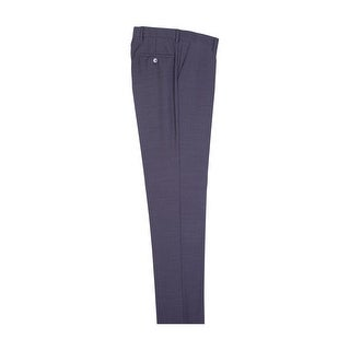 Charcoal Gray Slim Fit Dress Pants Pure Wool by Tiglio Luxe