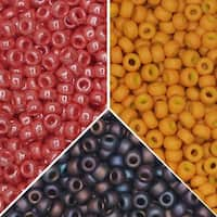 Exclusive Beadaholique Designer Palette, Miyuki Seed Bead Mix, Round 11/0, 25.5 Grams, Charleston
