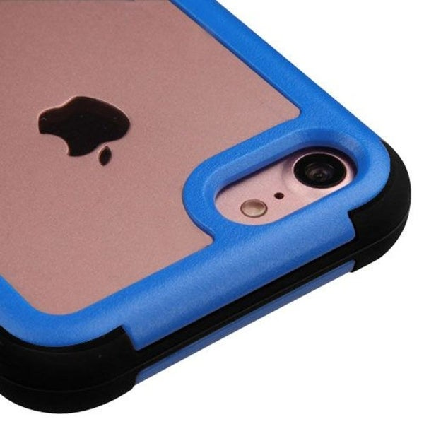 Insten Hard PC/ Silicone Dual Layer Hybrid Crystal Case Cover For Apple iPhone 7
