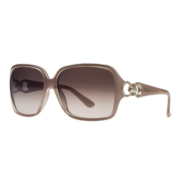 Salvatore Ferragamo SF620/S 291 Pearl Nude Square Sunglasses