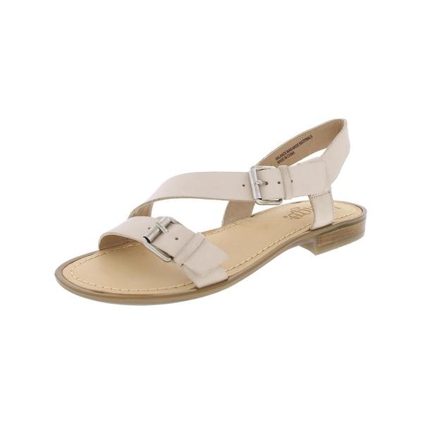 Latigo Womens Gamma Flat Sandals Strappy Open Toe