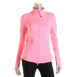 Zella Womens Cut-Out Mesh Inset Athletic Jacket - S