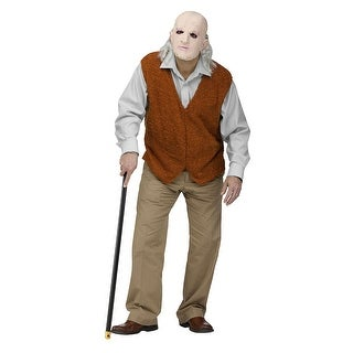 Mens Grandpa Costume Geriatic Funny Costume sz Standard - standard - one size