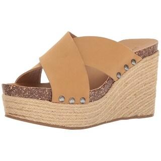 Lucky Brand Womens neeka Open Toe Casual Slide Sandals