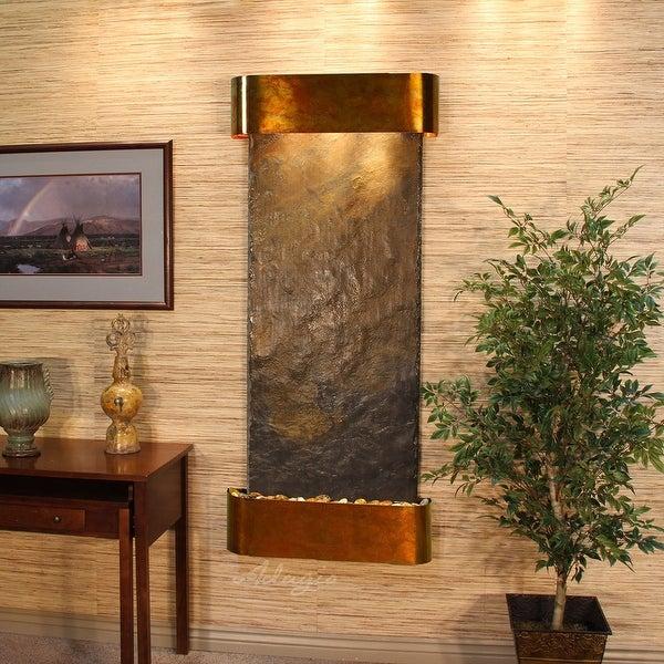 Adagio Inspiration Falls Fountain - Round - Rustic Copper - Choose Options - Multi|Multi