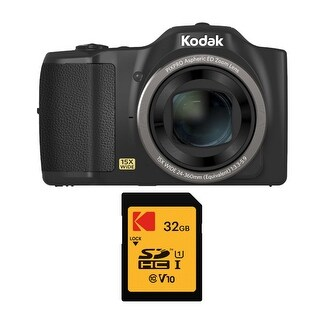 Kodak PIXPRO FZ152 Compact Digital Camera with 15x Optical Zoom Bundle