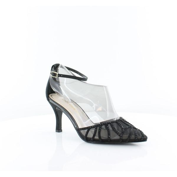 Caparros Charlotte Women's Heels Black Faille - 8