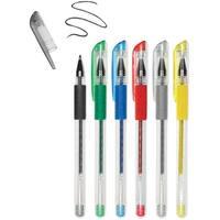 Living In Color Color-Flow Glitter Gel Pen Set 6/Pkg-Metallics