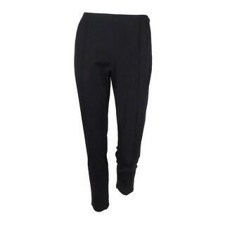 MICHAEL Michael Kors Women's Low-Rise Skinny Pants (Black, 6) - 6